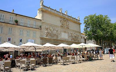 Bike rest in Avignon, Provence, France. Flickr:Andrea Schaffer