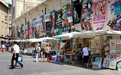 Festival in Avignon, Provence, France. Flickr:Andrea Schaffer
