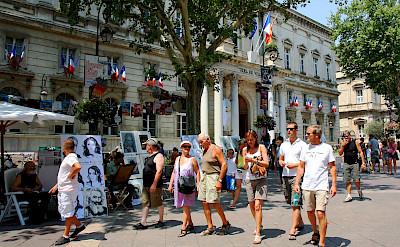 Sightseeing in Avignon, Provence, France. Flickr:Andrea Schaffer