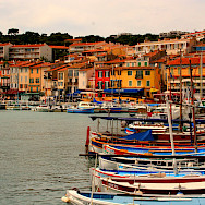 Harbor in Cassis, France. Flickr:Amanda Snyder