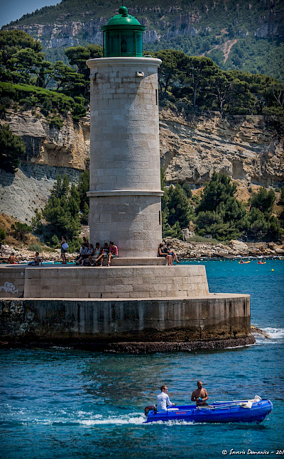 Bike rest in Cassis, France. Flickr:Saverio Domanico