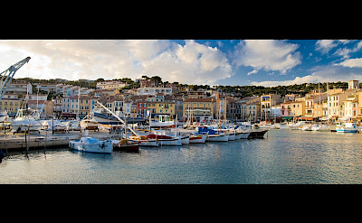 Marina in Cassis, part of the French Riviera in southern France. Flickr:Markocvejic