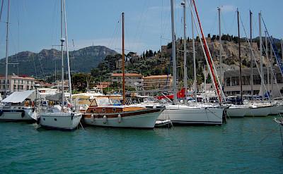 Sailboats in Cassis, France. Flickr:Brett Hammond