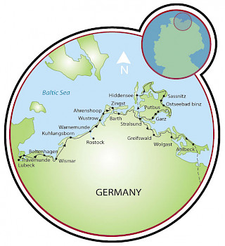 Baltic Sea Tour Map
