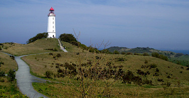 Lighthouse in Hiddensee. Photo via Flickr:Udo Schröter