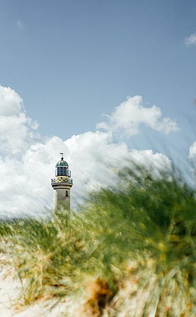 Warnemünde lighthouse. Photo by Philipp Deus on Unsplash