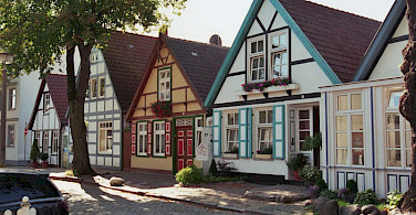 Alt Stadt in Warnemünde, Germany. Photo via Wikimedia Commons: Norbert Kaiser