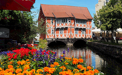 Bridge house in Wismar, Germany. Image by André Bauer from Pixabay