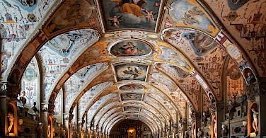 Antiquarium, part of Munich Residenz in Munich, Germany. Photo via Wikimedia Commons:Mk063