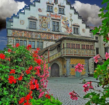Amazing architecture in Bavaria, Germany. Photo via Wikimedia Commons