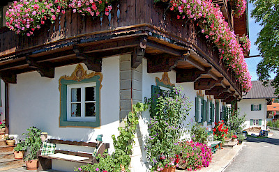Wallgau is a traditional Bavarian town. Photo via Flickr:Pixelteufel