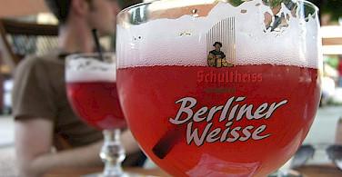 Berliner Weisse Beer - a local flavor! Photo via Flickr:Smadden
