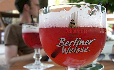 Berliner Weisse Beer - a local flavor! Flickr:Smadden