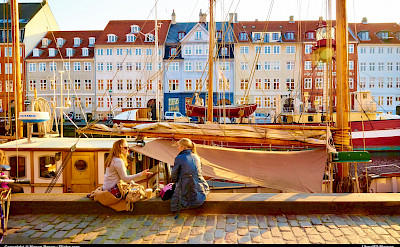 Nyhavn or New Harbor in Copenhagen, Denmark. Flickr:Moyan Brenn
