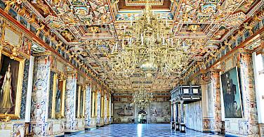 Interior of Frederiksborg Castle. Photo via Flickr:Dennis Jarvis
