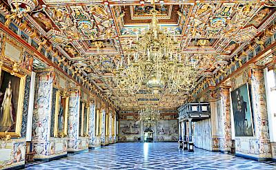 Interior of Frederiksborg Castle at Hillerød, Denmark. Flickr:Dennis Jarvis