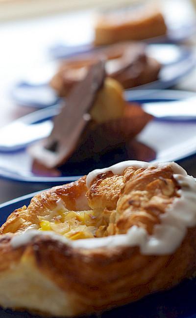 """""""Wienerbrød"""" are a popular pastry in Denmark. Flickr:Maik Meid"""