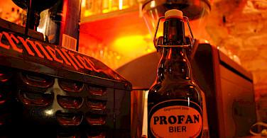 Bike to beer break in Berlin, Germany. Photo via Flickr:Christian Kahle