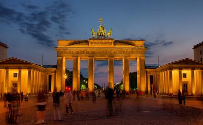 Brandenburg Gate in Berlin, Germany. Photo via Flickr:Roman Lashkin