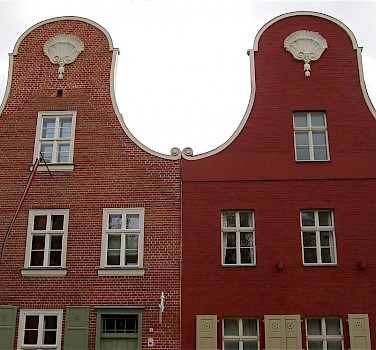 The gorgeous gables of Potsdam! This is in the famous Dutch Quarter. Photo via Flickr:ChicagoGeek