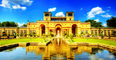 Schloss Orangerie in Potsdam. Photo by Flickr:Wolfgang Staudt