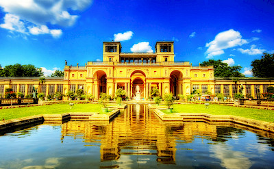 Schloss Orangerie in Potsdam. Photo by Flickr:Wolfgang Staudt