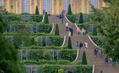 Schloss Sanssouci in Potsdam, Germany. Photo via Flickr:extranoise
