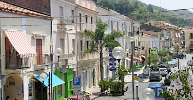 Corso Vittorio in Amantea, Italy. Photo via Flickr:Luca Galli