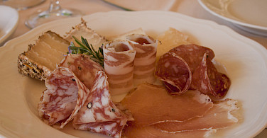 Delicious meats in the Chianti region, Italy. Photo via Flickr:Stefano Costantini