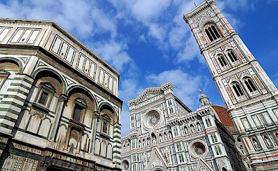 Famous architecture of Florence, Italy. Photo via Flickr:rosino