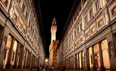 Uffizi Gallery in Florence, Tuscany, Italy. Photo via Wikipedia: Chris Wee