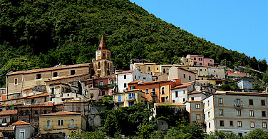 Cycling through Maratea, Basilicata, Italy. Photo via Flickr:Mozzercork