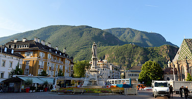 Walter Square in Bolzano, Trentino-Alto Adige, Italy. Photo via Flickr:Francisco Anzola