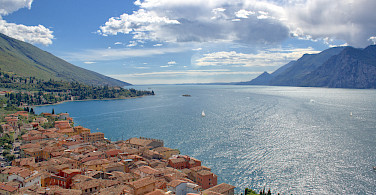 Overlooking Lake Garda, Italy. Photo via Flickr:Michael Bertulat