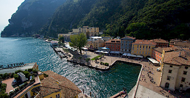 Riva del Garda on the Lake. Photo via Flickr:Alex