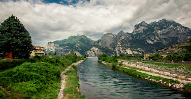 Riva del Garda in province Trento, region Trentino Alto Adige, Italy. Photo via Flickr:Waldemar Merger