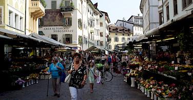 Bike rest in Bolzano, South Tyrol, Italy. Photo via Flickr:Aleksandr Zykov