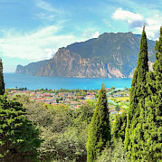 Lake Garda and the Adige River Photo