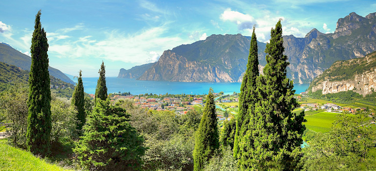 Lake Garda and the Adige River Cycle route