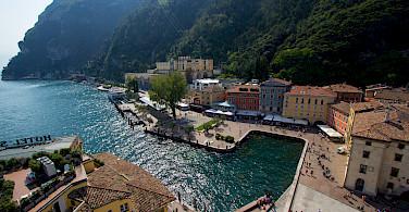 Lakeside resort of Riva del Garda, Italy. Photo via Flickr:Alex