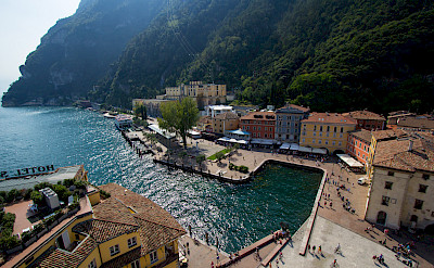 Lakeside resort of Riva del Garda, Italy. Photo via Flickr:Alex