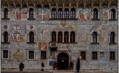Palazzo Geremia from the 15th century in Trento, Italy. Photo via Flickr:Eric Huybrechts