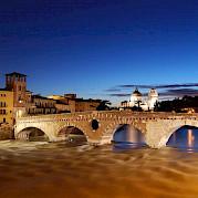 Lake Garda and the Adige River Photo