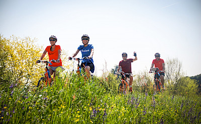 Biking the Veneto region of Italy.