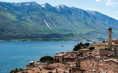Lake Garda in Italy.