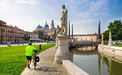 Bike rest in Padua (Padova), Italy.