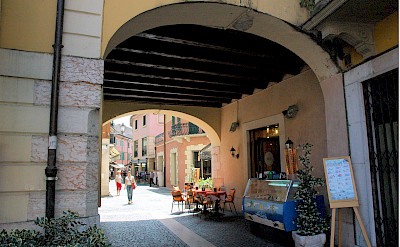 Lakeside town of Peschiera del Garda, Verona, Italy. Flickr:Janos Korom Dr.