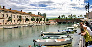 Peschiera along Lake Garda, Italy. Photo via Flickr:Dan Kamminga