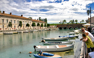 Peschiera along Lake Garda, Italy. Flickr:Dan Kamminga