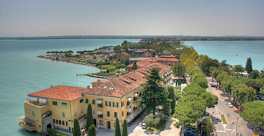 Sirmione on Lake Garda, Italy. Photo via Flickr:Stefan Hamerle